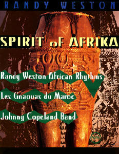 Spirit of Afrika Tour  1994